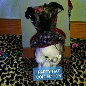 Creepy crawly steampunk spider tiny party hat gear